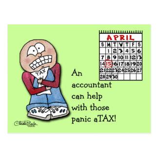 ¡aTAX del pánico! Tarjetas Postales