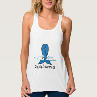 Ataxia with Swans of Hope Tank Top