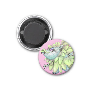 ATAZA CUTE MONSTER MAGNET Small, 1¼ Inch