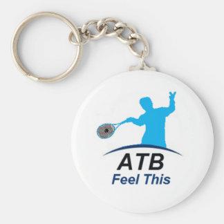 ATB feel Basic Round Button Keychain