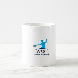 ATB White Bums Classic White Coffee Mug