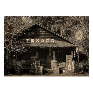 ATC americana de la foto de Texaco del vintage Tarjetas De Visita Grandes