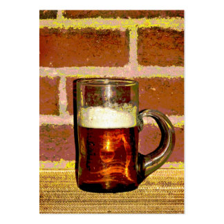 ATC de la cerveza Tarjeta De Negocio