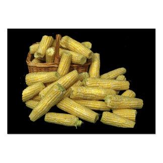 ATC de la cosecha de maíz Tarjetas De Visita Grandes