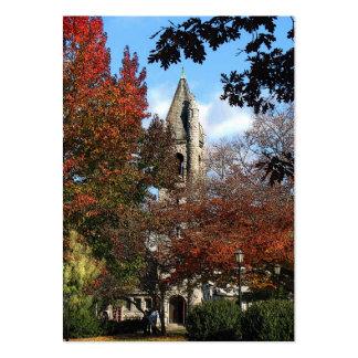 ATC de la iglesia y de los arces Tarjeta De Visita