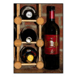 ATC de las botellas de vino Tarjetas De Visita Grandes