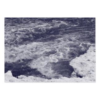 ATC de precipitación del agua Tarjetas De Visita Grandes