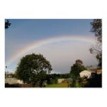 ATC del ~ del arco iris de la mañana Tarjetas Personales