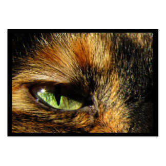 ATC del ojo de gato Tarjetas De Visita Grandes