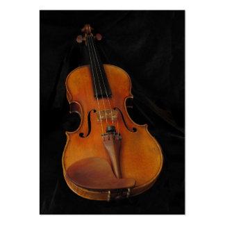 ATC del violín Tarjeta Personal
