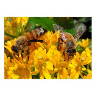 ATC gemelo del ~ de las abejas Tarjetas De Visita Grandes