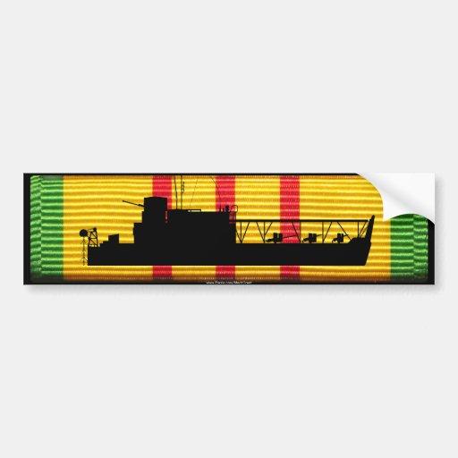 ATC(H) Tango Boat on VSM Ribbon Bumper Sticker