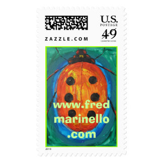 atc-LBorg, www.fredmarinello.com Postage Stamps