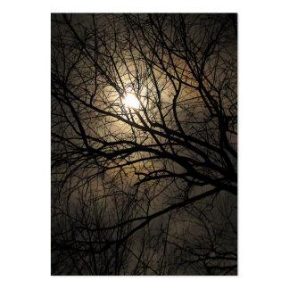 ATC místico de la luna Plantillas De Tarjeta De Negocio