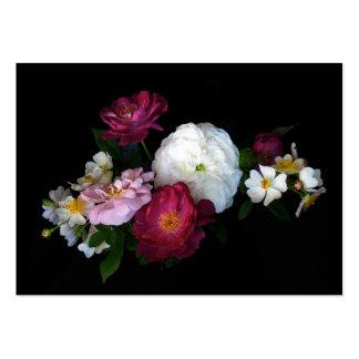 ATC pasado de moda de los rosas Plantilla De Tarjeta De Visita
