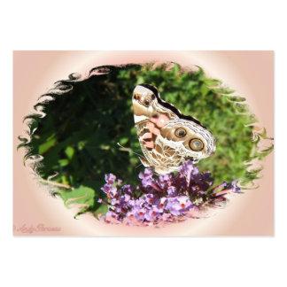 ATC pintado del ~ de señora Butterfly Tarjetas De Visita Grandes