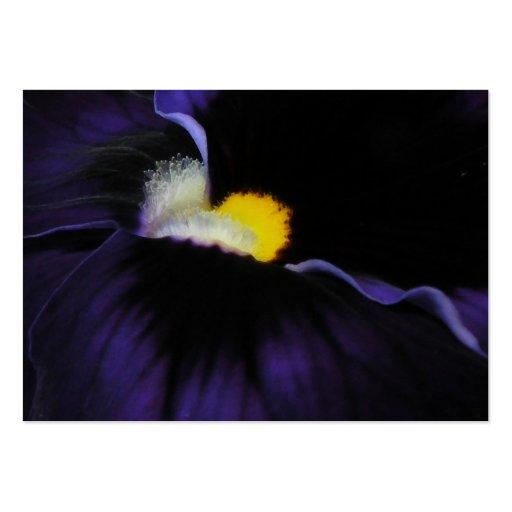 ATC púrpura 2 de la macro de la viola Tarjetas De Visita Grandes