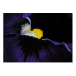 ATC púrpura 2 de la macro de la viola Plantilla De Tarjeta De Visita