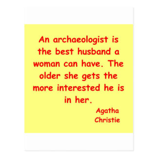 atchaeologist husband postcard
