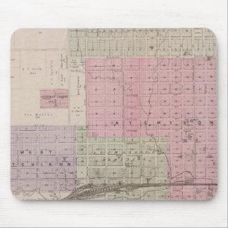 Atchison and vicinity, Kansas Mousepad