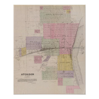 Atchison and vicinity, Kansas Poster