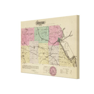 Atchison County, Kansas Canvas Print