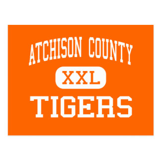 Atchison County - Tigers - Community - Effingham Postcard
