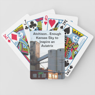 Atchison Kansas Sky Inspire Aviation Poker Cards