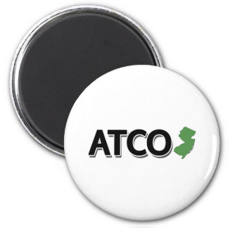 Atco, New Jersey Imán Redondo 5 Cm