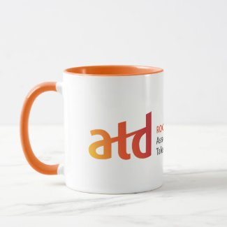 ATD Rocky Mountain Chapter Orange Handle Mug
