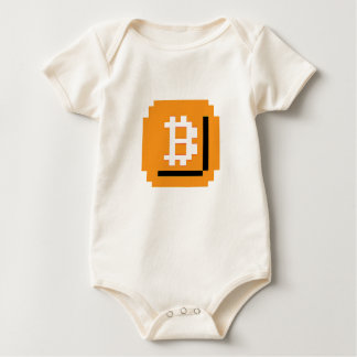 Ate Bit Bitcoin Block (Baby Baby Bodysuit