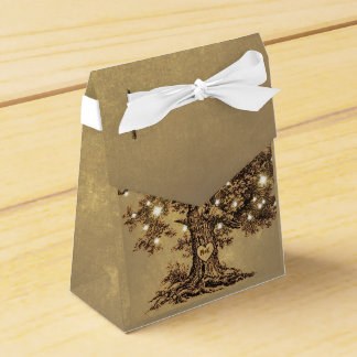 ate la caja rústica vieja del favor del boda del paquetes de regalo para bodas