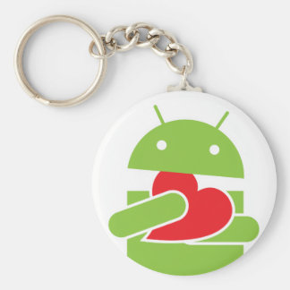 Ate my heart Android Keychain