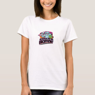 Ate my vacation!  Smaller version T-Shirt