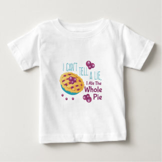 Ate Whole Pie Baby T-Shirt