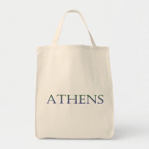 Atenas Bolsa Tela Para La Compra