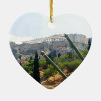 Atenas Grecia Ornaments Para Arbol De Navidad