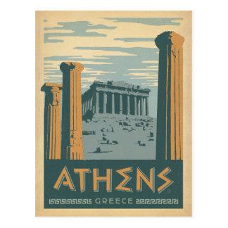 Atenas, Grecia Postales