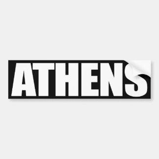 Atenas Pegatina Para Auto