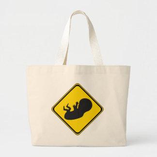 Atención: ¡Bebé a continuación! Bolsa De Mano