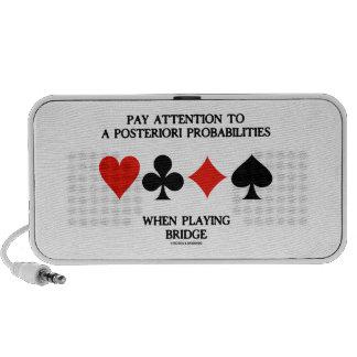 Atención de la paga a posteriori al puente de las  iPhone altavoz