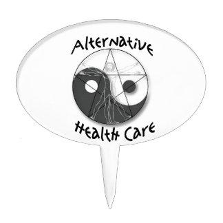 Atención sanitaria alternativa decoraciones de tartas