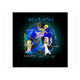 Atención sanitaria de Olympas Tarjetas Postales
