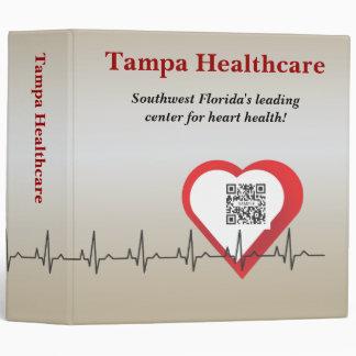 Atención sanitaria de Tampa de la carpeta de