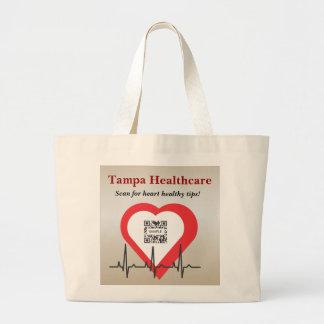 Atención sanitaria de Tampa de la plantilla del bo Bolsa Tela Grande