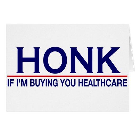 Atención sanitaria del bocinazo (Obamacare) Felicitaciones