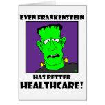 atención sanitaria del frankenstein felicitaciones
