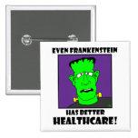 atención sanitaria del frankenstein pins