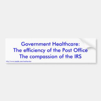 Atención sanitaria del gobierno: La eficacia de la Pegatina Para Auto