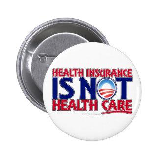 Atención sanitaria del seguro médico pin